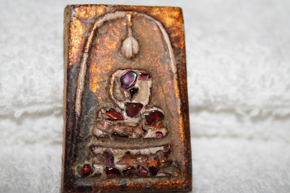 Phra SOMDEJ Toh . 2412 - 143 year old. Holy mix relics.